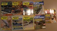 9 Model Train Magazines: Railroad Model Craftsman, Model Railroader, Others