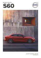 2020 MY Volvo S60 First Edition 04 / 2019 brochure catalogue Pologne Poland