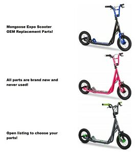 Mongoose Expo Scooter Replacement Parts (Blue, Green, & Pink): Choose your part!
