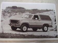 1981   FORD BRONCO    11 X 17  PHOTO  PICTURE