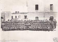 * LECCE - Foto di Gruppo Militari in Caserma