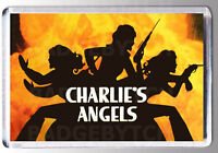 CHARLIE'S ANGELS 70's Title Screen LARGE fridge magnet - CLASSIC RETRO COOL!
