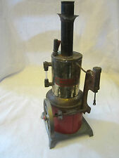 Vintage Weeden Metal Vertical Line Wheel Toy Steam Engine Germany??