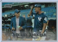 2019 Topps Stadium Club Photo Variation Miguel Andujar New York Yankees #123