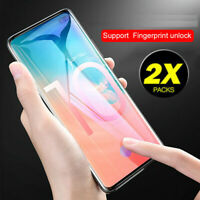 For Samsung Galaxy S10 Plus Full Cover Unlock Tempered Glass Screen Protector