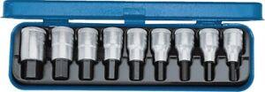 Steckschlüsselsatz IN 19 PM 9-teilig 1/2 Zoll 5 - 17 mm