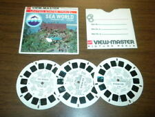 SEA WORLD MISSION BAY PARK SAN DIEGO CA. (A192) Viewmaster 3 reels PACKET SET