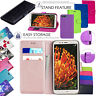 For Huawei Y6 2018 New PU Leather Magnetic Wallet Book Flip Stand Case Cover