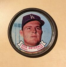 Baseball Dodgers Don Drysdale Pitcher ?1963?