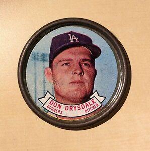 Baseball Dodgers Don Drysdale Pitcher ?1963?