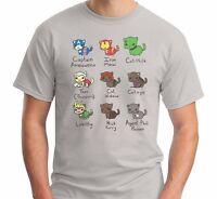Cat Avengers Iron Man Marvel Captain America Comic T Shirt Top Tee
