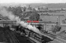 PHOTO  PANORAMA NORTHWARD FROM ABOVE LINSLADE TUNNEL 1948