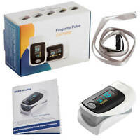 Blood Oxygen Monitor Finger Pulse Oximeter Heart Rate Oxygen Saturation Monitor