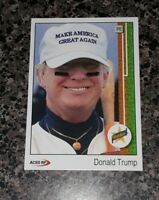 Lot of 25 Donald Trump 1989 Style ACEO Baseball Art  Griffey Rookie Card Parody!