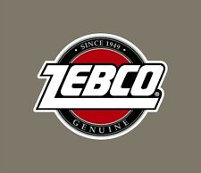 Zebco decals stickers bass boat tournament sponsor fishing rod reel