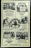 1971 Orig. Menu MILLERIDGE INN Milleridge Village Jericho Long Island New York
