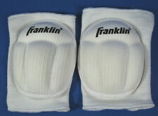 Franklin WHITE Contoured Volleyball Knee Pads