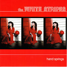 "7"" WHITE STRIPES hand springs RECORD STORE DAY 2012 RED rsd NEW VINYL VINILO"