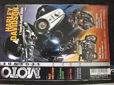 ** Moto légende n°113 Poster 1200 Harley Davidson Hydra Glide 1949