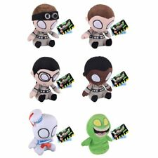 COMPLETE SET OF 6 GHOSTBUSTERS FUNKO MOPEEZ SOFT PLUSH TOYS SLIMER STAY PUFT