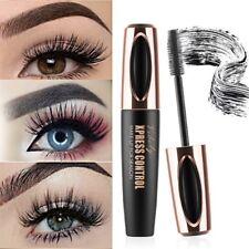Black Waterproof Eyelash Mascara Extension 4D Fiber Long Curling Eye Lash Makeup