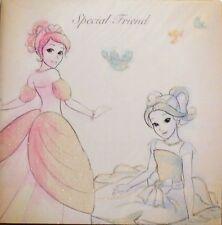 Special friend Gem Fairies card, say thank you, good luck, Birthday etc, new