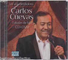 Edicion De Lujo - Carlos Cuevas CD / DVD La Voz Del Bolero 888750773524 NEW