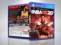NBA 2k20 - PS4 - Replacement - Cover/Case - NO Game