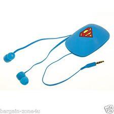 Superman Stereo Earphones Earpods Headset Phone Speakers Headphones iPhone iPad