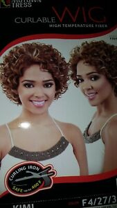 Motown Tress Curlable High Temperature Fiber Wig Kimi