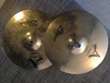 "Zildjian A Custom Pair 14"" Hi-Hat Cymbal"