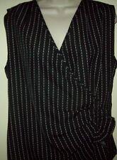 Ellen Tracy striped Top Size 14