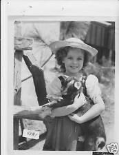 Shirley Temple Heidi VINTAGE Photo