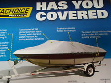BOAT COVER V HULL CENTER CONSOLE 19.6FT X 96 INCH BEAM 97781 10 OZ COTTON DUCK