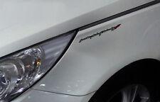 Sonata Art of Technology Logo Emblem 1p For 11 12 13 14 Hyundai YF Sonata :  i45