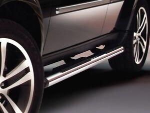 07-11 2012 Dodge Nitro Chrome Side Steps Tubular Running Boards Nerf Bars Mopar