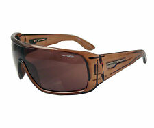 ARNETTE BARN BURNER SUNGLASSES AN4133 05 TRANSLUCENT BROWN FRAME NEW  LAST FEW