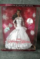 Barbie Holiday 2008 Doll African American NIB