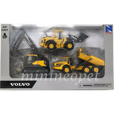 "NEW RAY 32095 5"" VOLVO EC140E L60H A25G CONSTRUCTION SET OF 3"