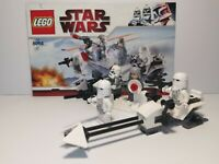 Lego StarWars Hoth Snowtrooper Battle Pack Set8084 Complete/Instructions/MiniFig