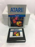 Atari 5200 Pac Man Video Game w/ Instructions Tested B*O