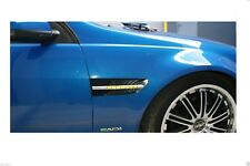 Holden Commodore VE series 1 & 2 LED Side Markers Side Flutes Sedan Ute Wagon SS