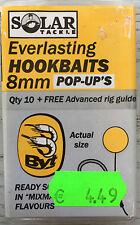 "Solar tackle Everlasting Hookbaits 8mm Pop up's ""Byt""  Geheimtip!"