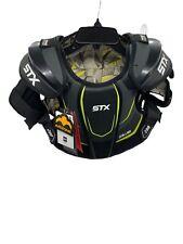STX STALLION 200 Lacrosse Shoulder Pads Black/Yellow Large