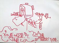 MOZE NOT QUIK GRAFFITI COPE2 STREETART JONONE 156 NEW YORK SEEN IZ TAKI DAZE