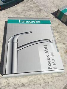 Hansgrohe Einhebel-Küchenarmatur Spültischarmatur E 160 Focus M41 31780000