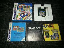 Super Mario Bros. Deluxe para Nintendo Game Boy Color en OVP cib
