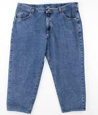 LL Bean Blue Jeans 46 X 29 Double L Dark Wash Cotton Denim Back to School