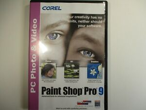 COREL PAINT SHOP PRO 9 CD-ROM
