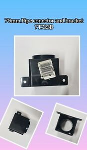 Osma black 7T723B 70mm Pipe Connector And Bracket
